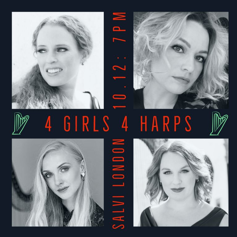 4 GIRLS 4 HARPS